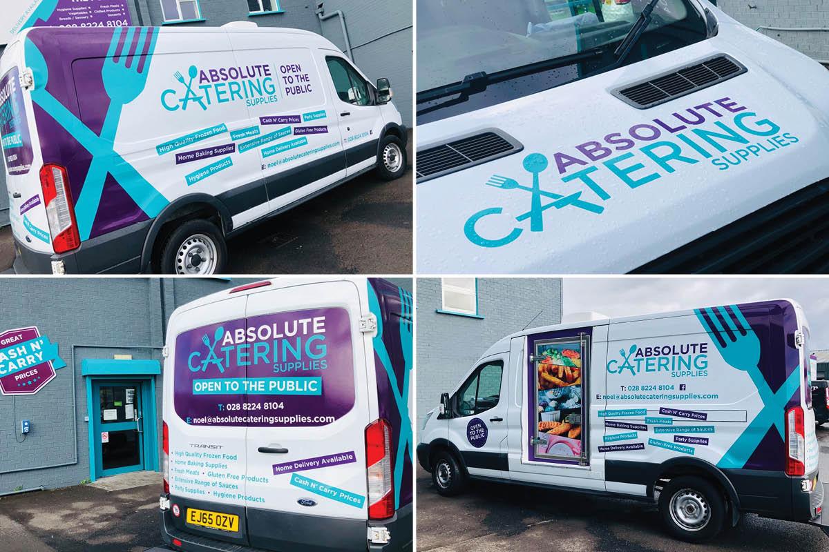 Absolute Catering Van
