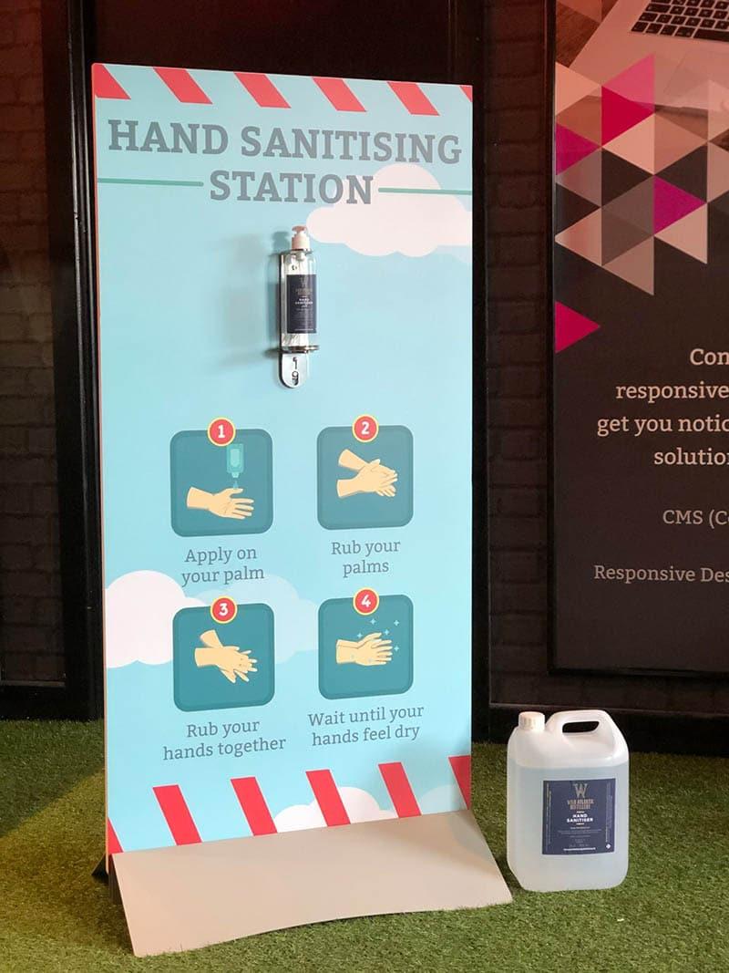 iDesign Covid - Hand Sanitiser Stand